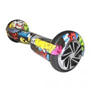 """Smart Balance Wheel 6,5"""" граффити желтый"""